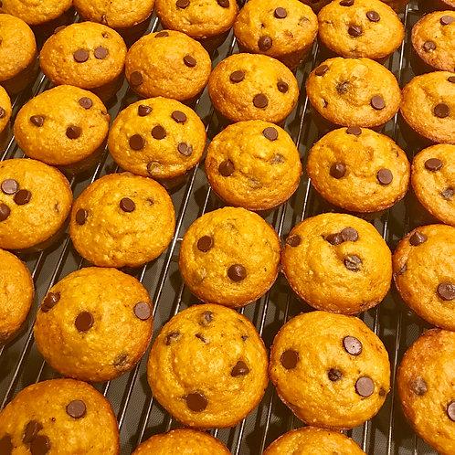 Chocolate Chip Healthy(ish) Muffins