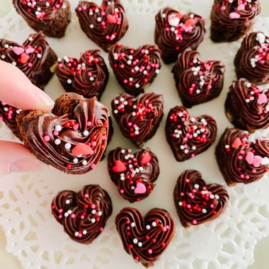 Brownie Hearts