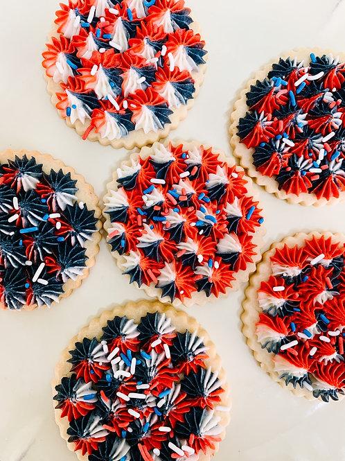Buttercream Decorated Sugar Cookies