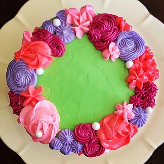 Bright Bold Cake