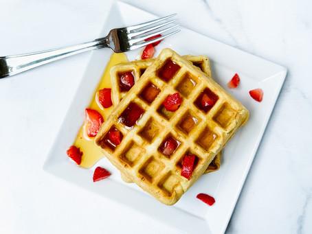 Cinnamon Vanilla Waffles