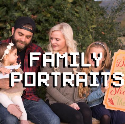 Family Portraits, family photos, family photo photographer, seasonal family photos, huntsville, madison, decatur, jones valley, near me, alabama, pixeljoes
