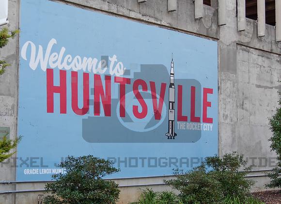 Downtown Huntsville Mural BSP