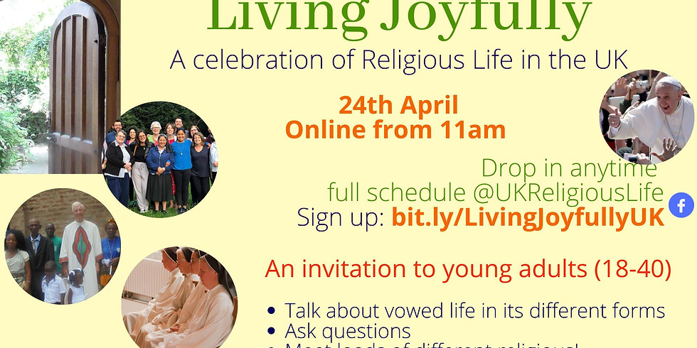 Living Joyfully - A Celebration of Religious Life in the UK