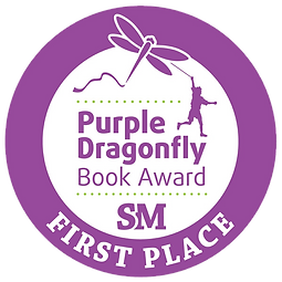 Purple Dragonfly Book Award First Place.