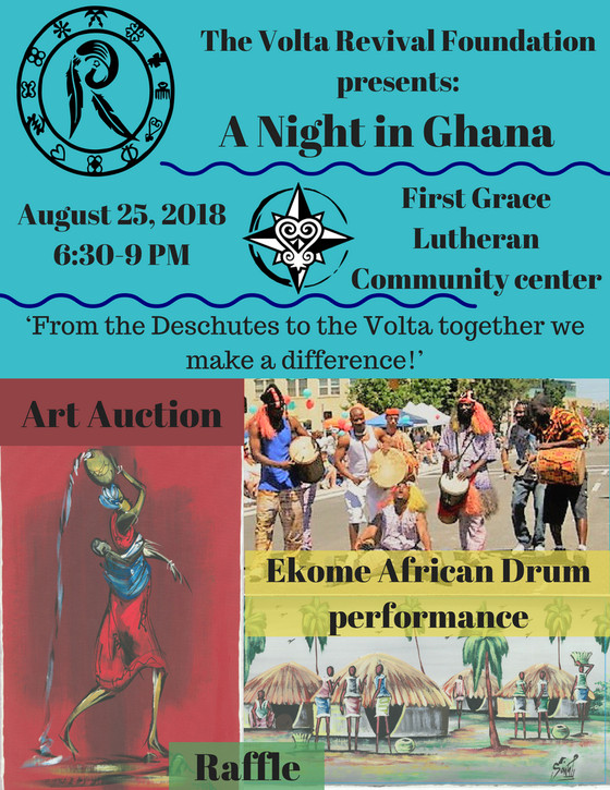 You're invited to a Night in Ghana!