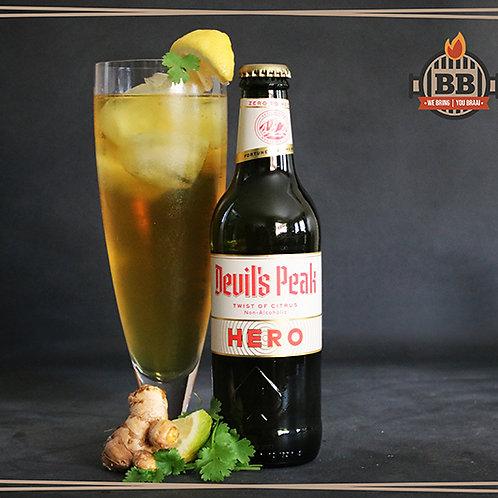 Devils Peak Hero (Twist of Citrus) Non-Alcoholic 330ml X 6