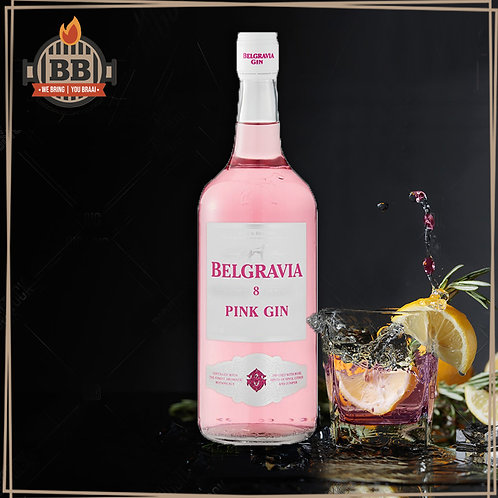 Belgravia Pink Gin 750ml