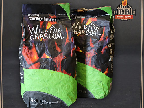 Namibian Hardwood Charcoal 4kg Bag