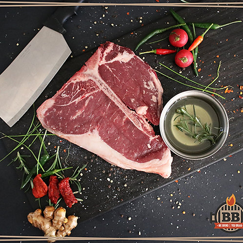 Beef T-Bone Steak (per kg)