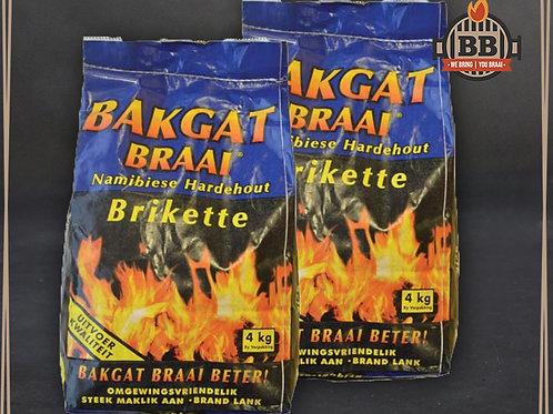 Bakgat Briquettes 4kg Bag