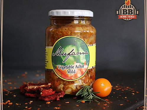 Mufana - Vegetable Achar Mild 380g