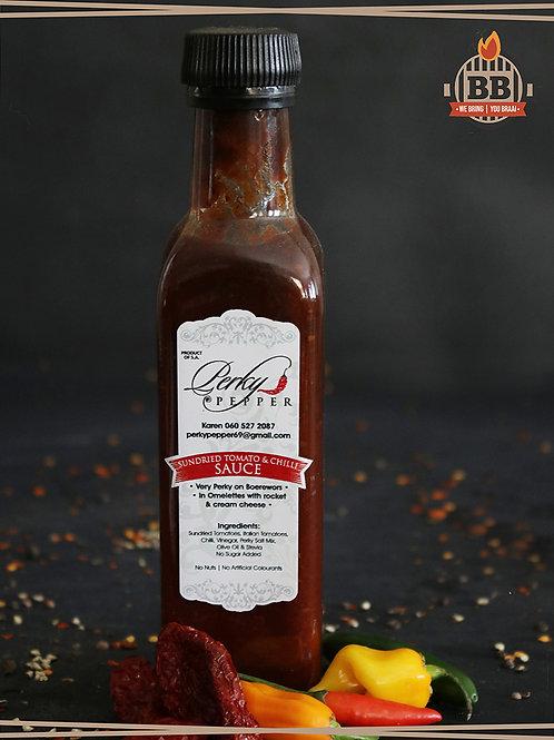 Perky Pepper - Sundried Tomato & Chilli Sauce 250g
