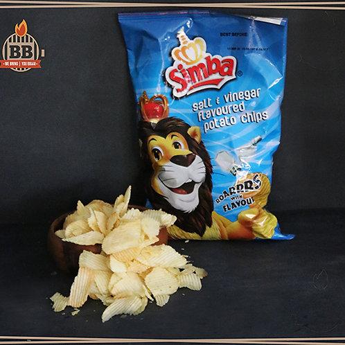 Simba - Salt & Vinegar 125g