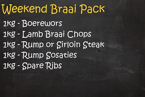 Weekend Braai Pack