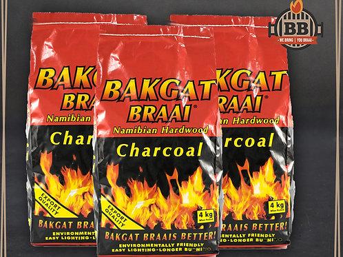 Bakgat Charcoal 4kg Bag