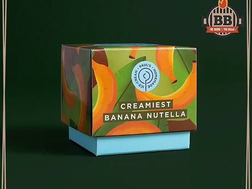 Paul's Ice Cream - Creamiest Banana Nutella 125ml