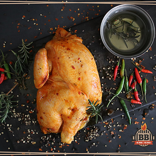 Chicken Half Flatty (Lemon Herb or Peri Peri) (per kg)