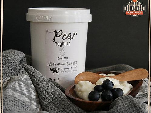 Pear - Plain Yogurt 500ml