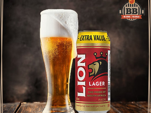 Lion Lager 500ml X 6
