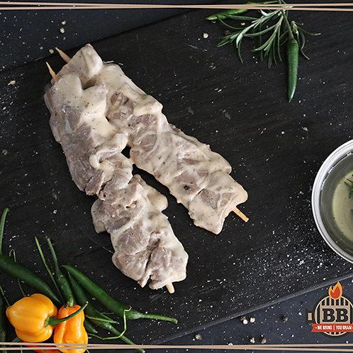 Beef Fillet Garlic Sosatie  (per kg)