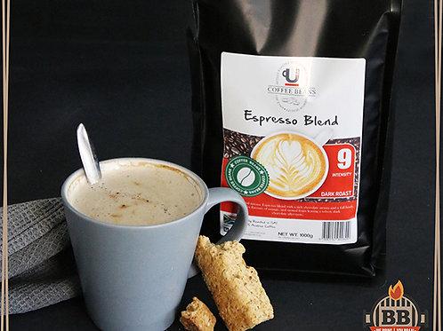 UCafe - Beans - Espresso Blend (Intensity 9) 1kg