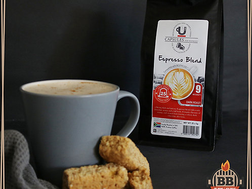UCafe - Caps - Espresso Blend (Intensity 9) 25 Pods