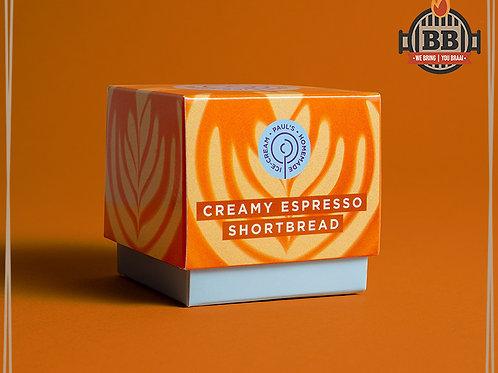 Paul's Ice Cream - Creamy Espresso Shortbread 125ml
