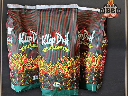 Klipdrift Charcoal 4kg Bag