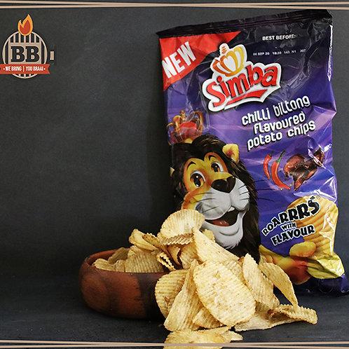 Simba - Chilli Biltong 125g