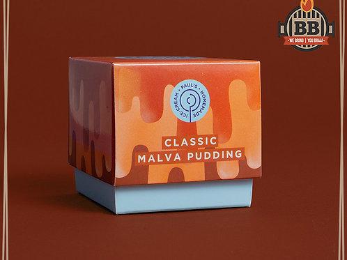 Paul's Ice Cream - Classic Malva Pudding 125ml