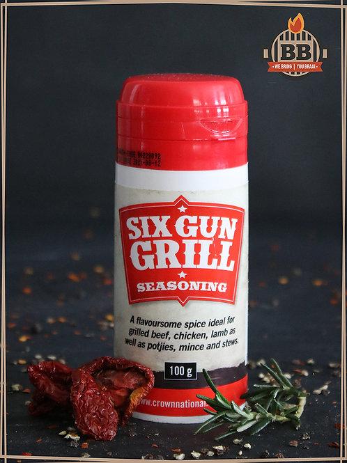 Six Gun Grill Seaoning 100g