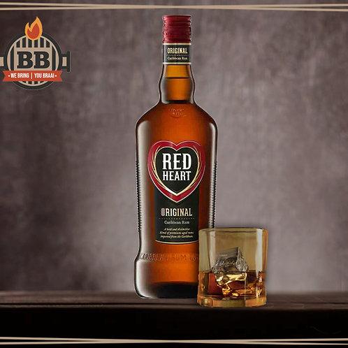 Red Heart Rum 750ml