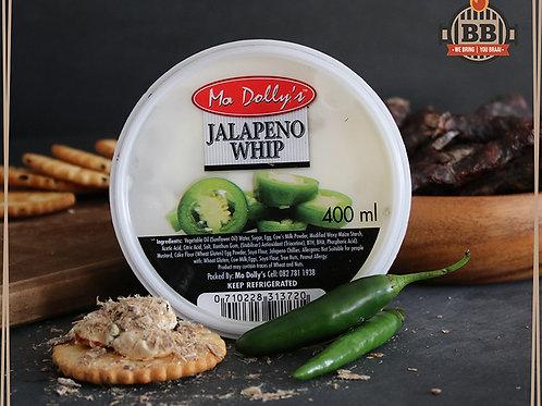 Ma Dollys - Jalapeno Whip  400g