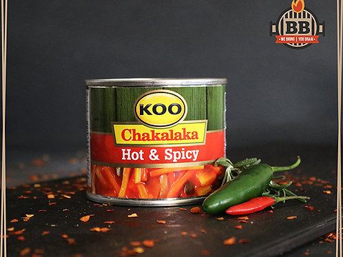 Koo - Chakalaka Hot & Spicy 215g