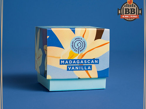 Paul's Ice Cream - Madagascan Vanilla 125ml