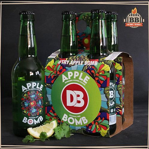 Apple Bomb Non-Alcoholic Beer  330ml X 1