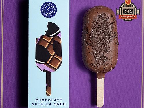 Paul's Ice Cream - Nutella Oreo on a Stick