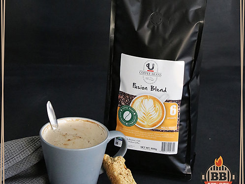 UCafe - Beans - Fusion Blend (Intensity 6) 1kg