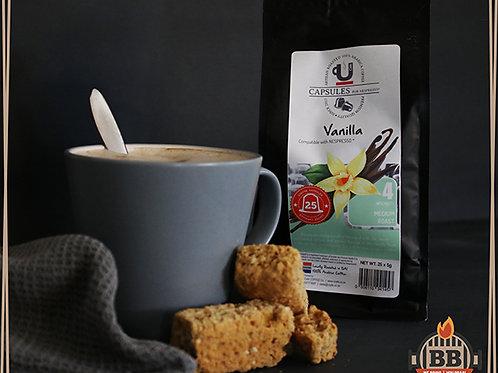 UCafe - Caps - Vanilla (Intensity 4) 25 Pods
