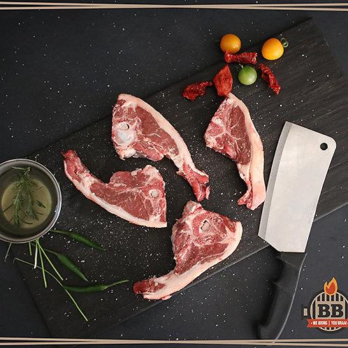 Lamb Loin Tjops (per kg)