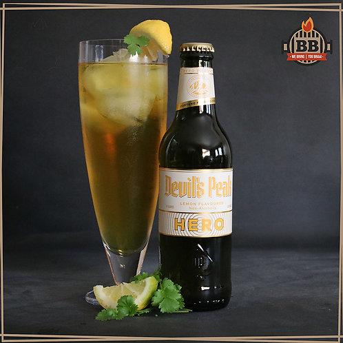 Devils Peak Hero (Lemon Flavoured) Non-Alcoholic330ml X 6