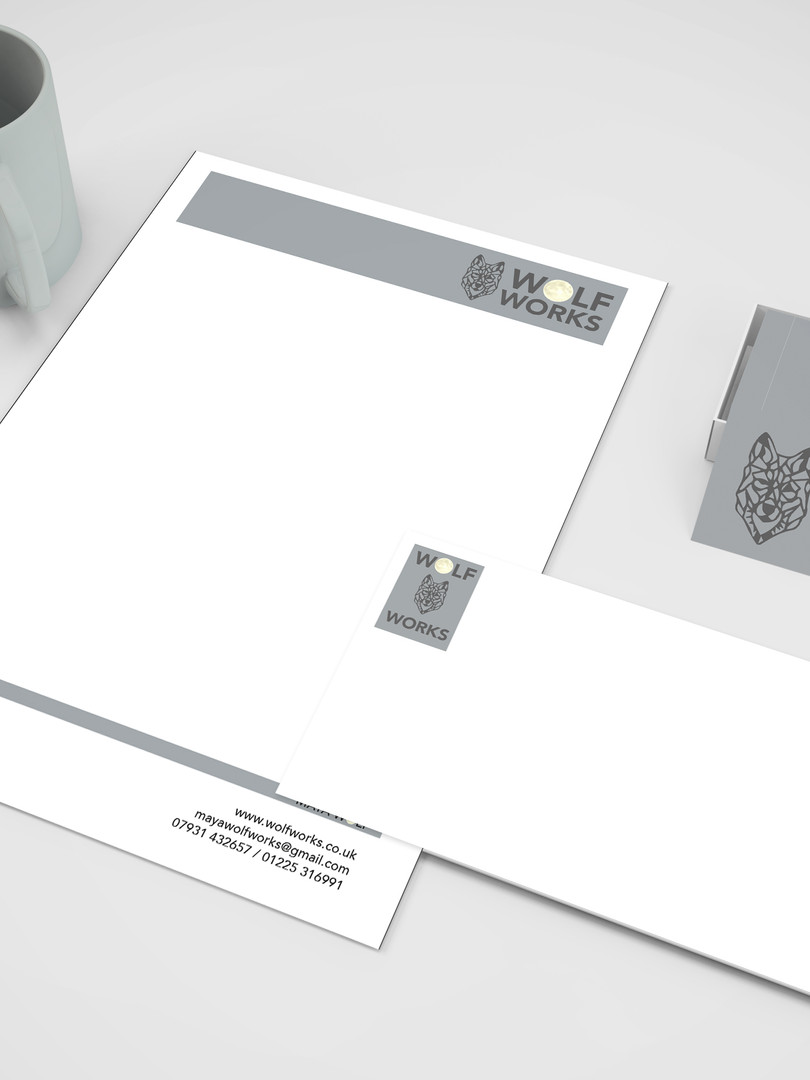 Stationery | Business Card & Letter head