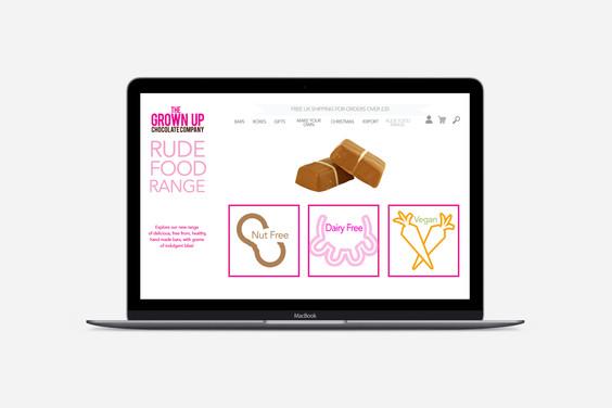 Website - mock up