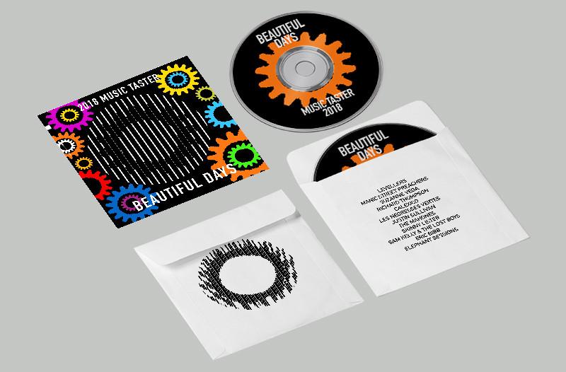 Promo CD Lenticular Design