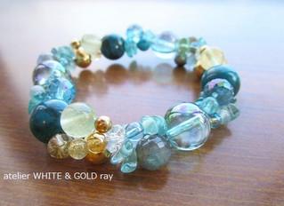 Evolution bracelet ~今はターコイズブルー