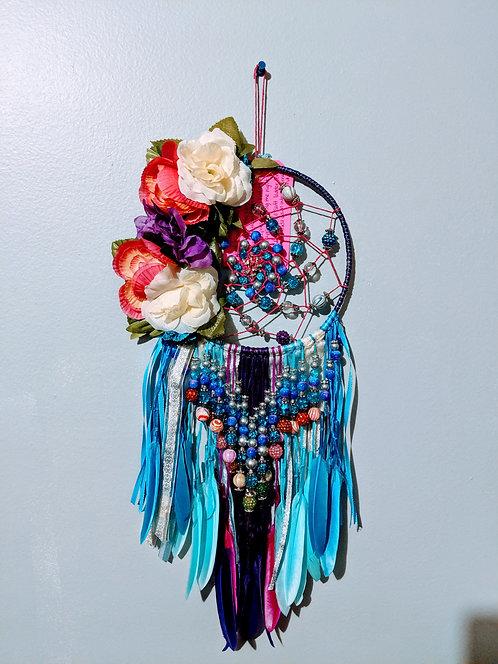 Large Flower Dreamercatcher