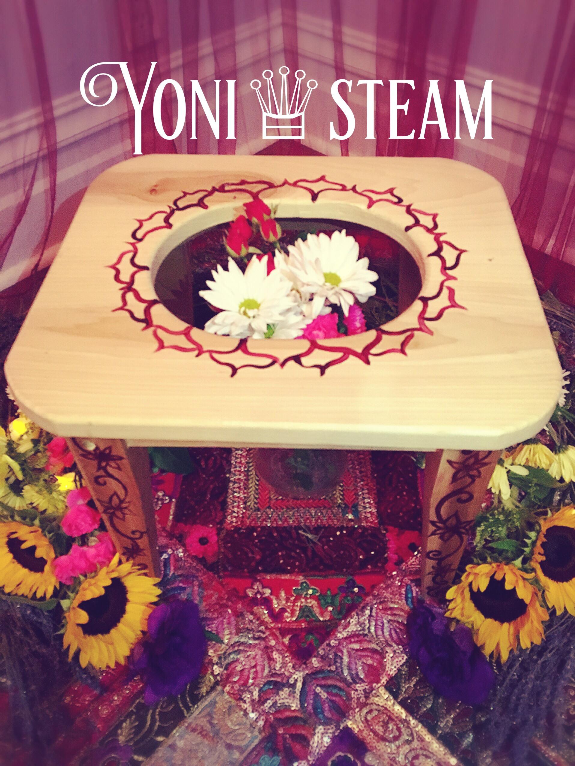 Vaginal Steam - ( Yoni Steam)