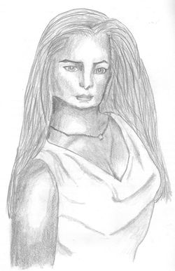 Freehand Drawing - Woman