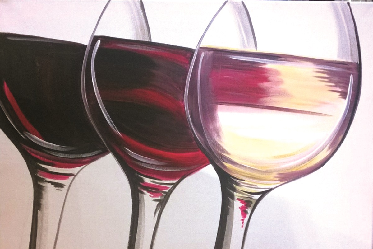 Wine Glass Trio